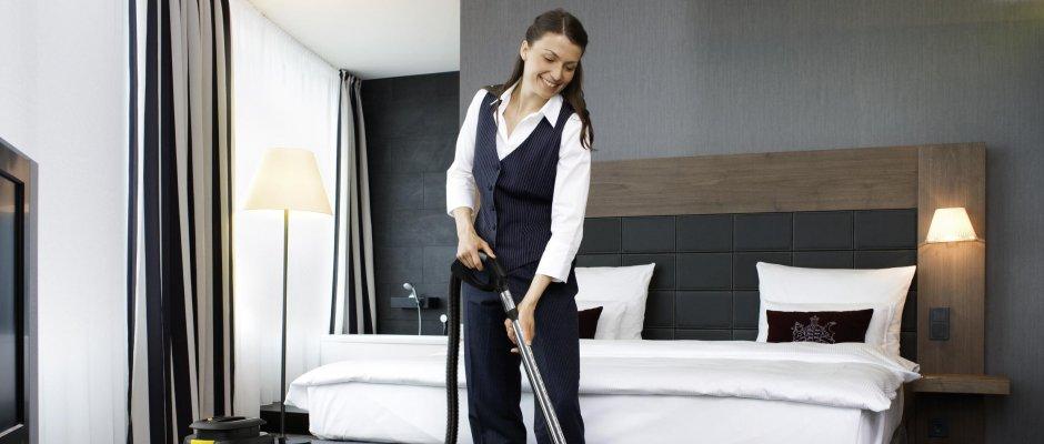 Уборка гостиничных номеров